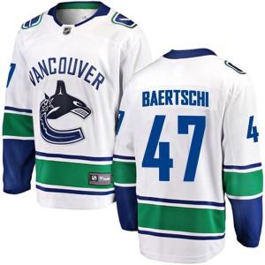 Men's Vancouver Canucks Sven Baertschi Fanatics Branded Breakaway Away Jersey - White
