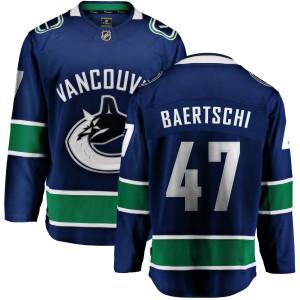 Men's Vancouver Canucks Sven Baertschi Fanatics Branded Home Breakaway Jersey - Blue