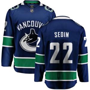 Youth Vancouver Canucks Daniel Sedin Fanatics Branded Home Breakaway Jersey - Blue