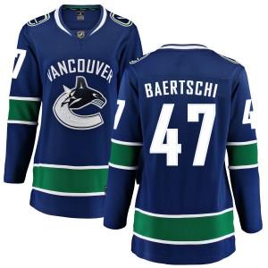 Women's Vancouver Canucks Sven Baertschi Fanatics Branded Home Breakaway Jersey - Blue