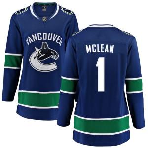 Women's Vancouver Canucks Kirk Mclean Fanatics Branded Home Breakaway Jersey - Blue