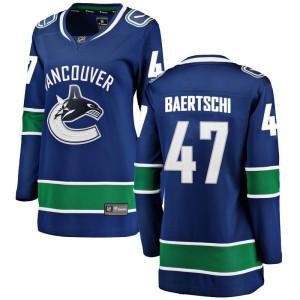 Women's Vancouver Canucks Sven Baertschi Fanatics Branded Breakaway Home Jersey - Blue