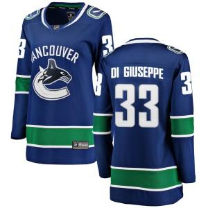 Women's Vancouver Canucks Phillip Di Giuseppe Fanatics Branded Breakaway Home Jersey - Blue
