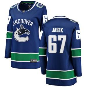 Women's Vancouver Canucks Lukas Jasek Fanatics Branded Breakaway Home Jersey - Blue