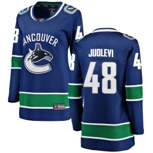 Women's Vancouver Canucks Olli Juolevi Fanatics Branded ized Breakaway Home Jersey - Blue