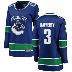 Women's Vancouver Canucks Brogan Rafferty Fanatics Branded Breakaway Home Jersey - Blue