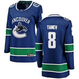 Women's Vancouver Canucks Chris Tanev Fanatics Branded Breakaway Home Jersey - Blue