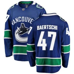 Men's Vancouver Canucks Sven Baertschi Fanatics Branded Breakaway Home Jersey - Blue