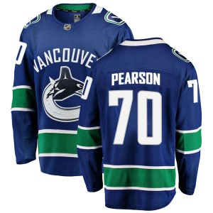 Men's Vancouver Canucks Tanner Pearson Fanatics Branded Breakaway Home Jersey - Blue