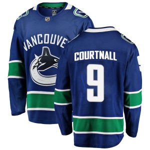 Youth Vancouver Canucks Russ Courtnall Fanatics Branded Breakaway Home Jersey - Blue