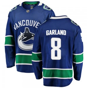 Youth Vancouver Canucks Conor Garland Fanatics Branded Breakaway Home Jersey - Blue