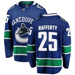 Youth Vancouver Canucks Brogan Rafferty Fanatics Branded Breakaway Home Jersey - Blue