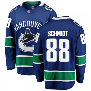 Youth Vancouver Canucks Nate Schmidt Fanatics Branded Breakaway Home Jersey - Blue