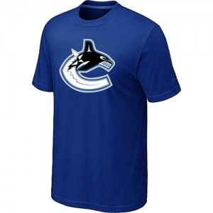 Men's Vancouver Canucks Big & Tall Logo T-Shirt - - Blue
