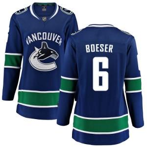 Women's Vancouver Canucks Brock Boeser Fanatics Branded Home Breakaway Jersey - Blue