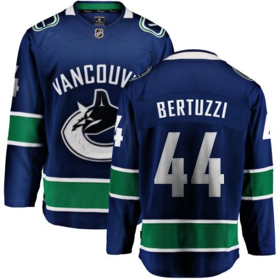 Men's Vancouver Canucks Todd Bertuzzi Fanatics Branded Home Breakaway Jersey - Blue