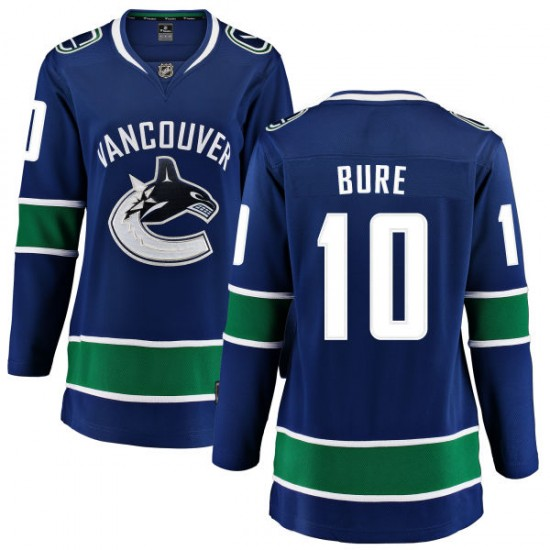 Women's Vancouver Canucks Pavel Bure Fanatics Branded Home Breakaway Jersey - Blue