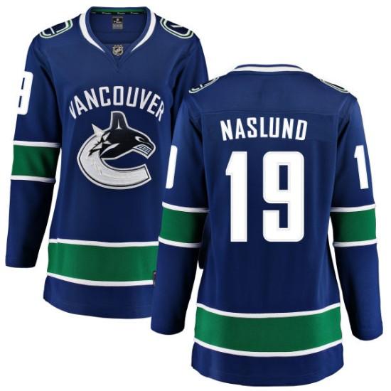Women's Vancouver Canucks Markus Naslund Fanatics Branded Home Breakaway Jersey - Blue