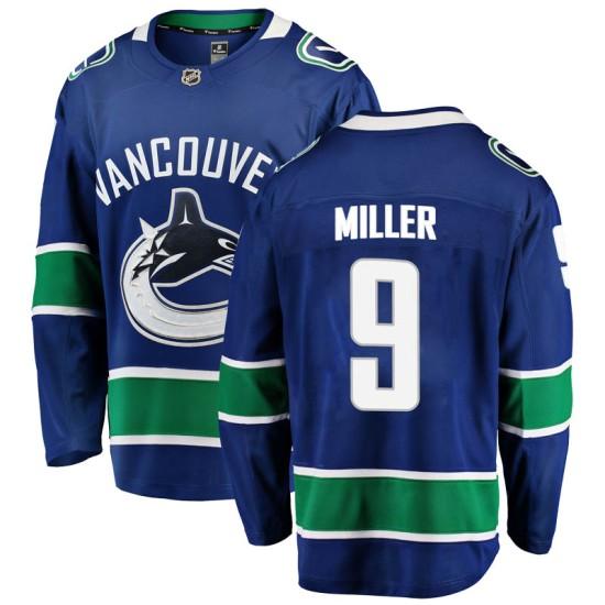 Men's Vancouver Canucks J.T. Miller Fanatics Branded Breakaway Home Jersey - Blue